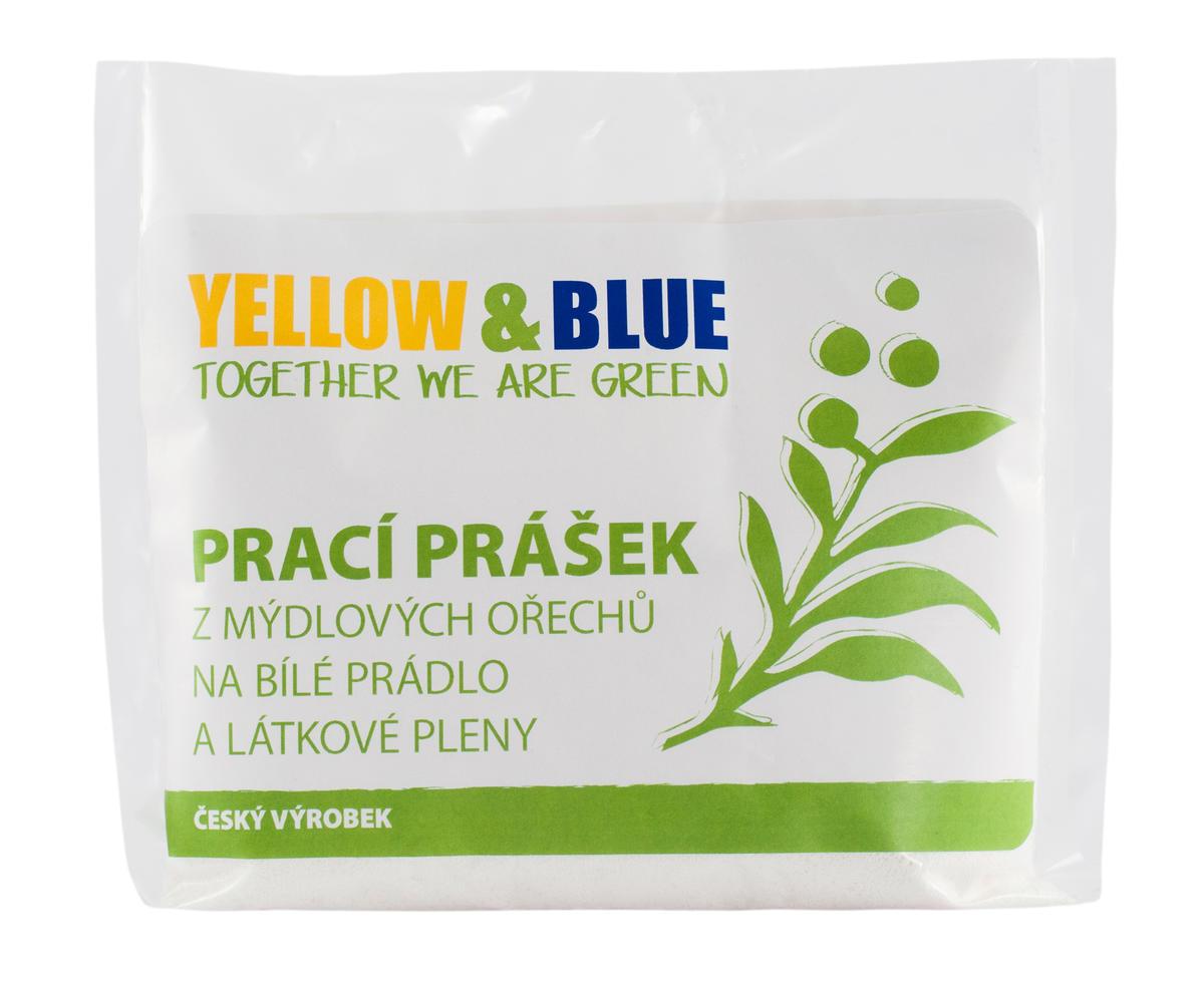 a94c11b15eab Yellow   Blue Prací prášok z mydlových orechov na bielu bielizeň a látkové  plienky 250g